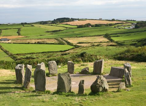 Stone Circle at Drombeg, County Cork, Ireland