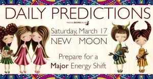 Predictions: New Moon in Pisces – March  17