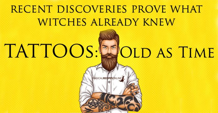 Tattoos: Old as Time - Egyptian Mummies Prove it