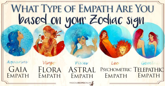 Types of Empaths And Zodiac Signs