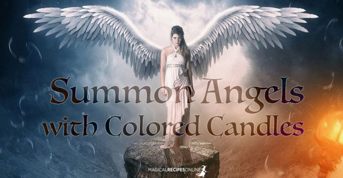 How To Summon Angels with Colored Candles