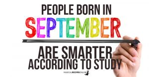 Those Born In September (Virgo & Libra) Are Usually Smarter, Study Finds