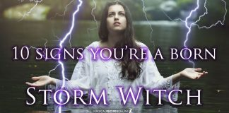 10 Signs You are a born Storm Witch