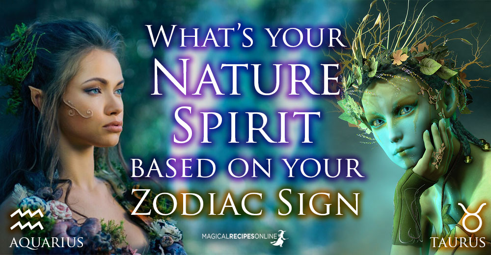 What's Your Nature Spirit according to Your Zodiac Sign