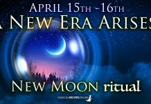April's New Moon Ritual: A New Era Arises