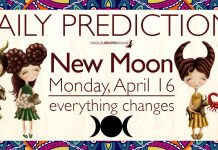 Predictions: New Moon in Aries – April 15-16