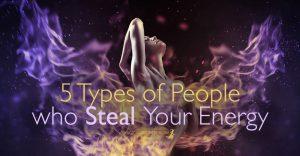 Τypes of People who Steal Your Energy