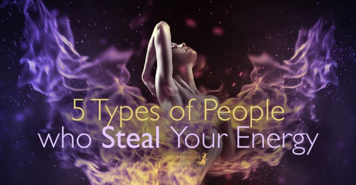 Τypes of People who Steal Your Energy