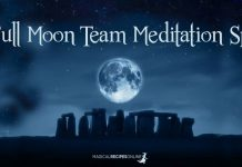A Full Moon Team Meditation Spell