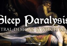 Sleep Paralysis. Legends, Dangers and Magic