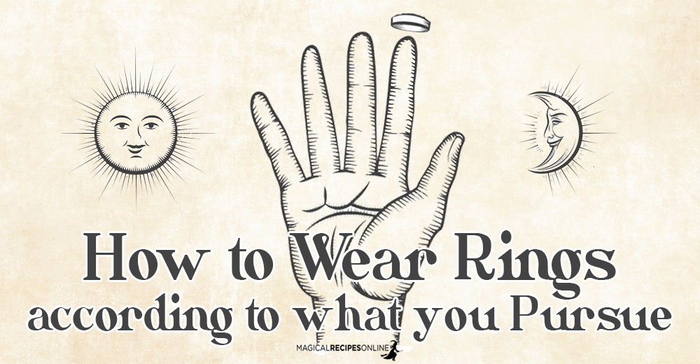 How to Wear Rings according to what you Pursue