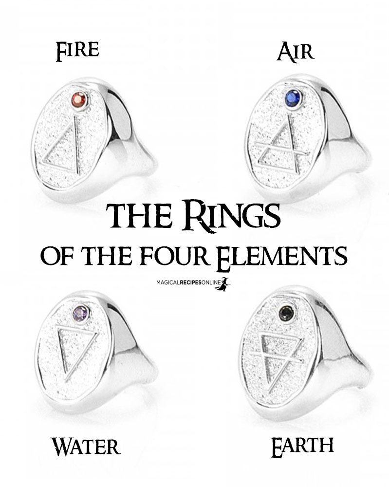 buy the rings of the four elements