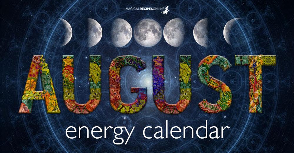 August's Energy Calendar