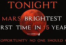 TONIGHT: Mars At Its Brightest, First Time In 15 Years