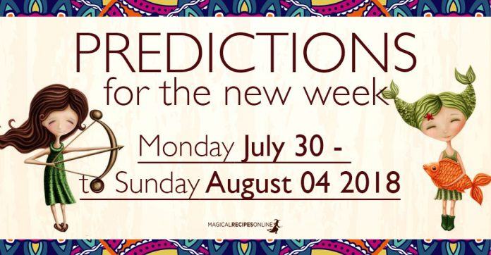 Predictions for the New Week, July 30 – August 04, 2018