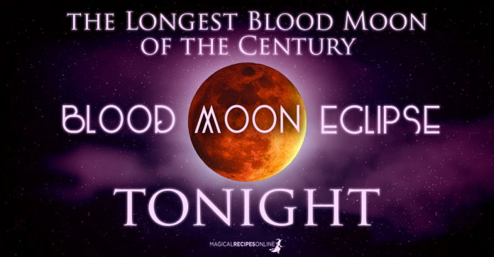 Full Moon and Lunar Eclipse in Aquarius – July 27 2018