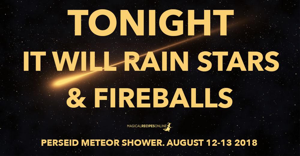 Perseid Meteor Shower 2018 - Tonight It Will Rain Stars & Fireballs!