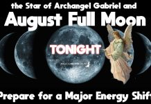 August Full Moon in Pisces – August 26 2018 - the Angel Full Moon