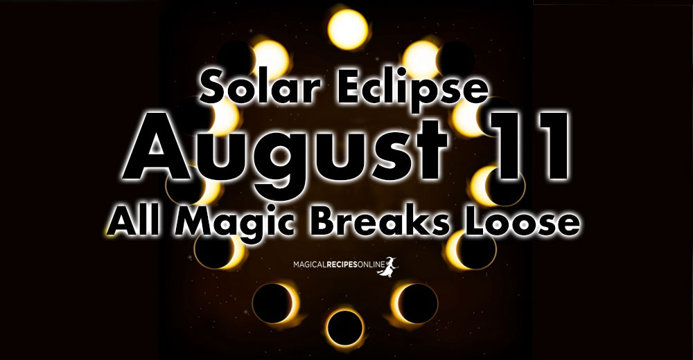 Solar Eclipse in Leo - August 11 2018