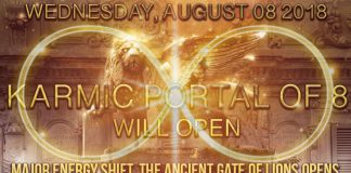 The Karmic Portal of 8 opens: (8)th of August (8) 201(8) - Cosmic Shift