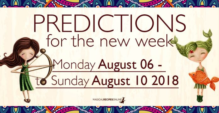 Predictions for the New Week, August 06 - 10