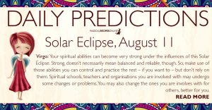 New Moon and Solar Eclipse in Leo – August 11