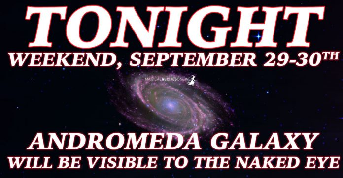 Andromeda Galaxy with Naked Eye