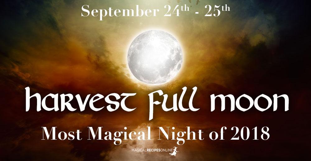 Harvest Full Moon in Aries – September 24/25