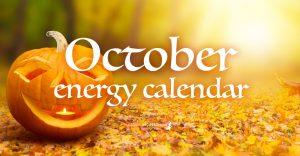 October's Energy Calendar