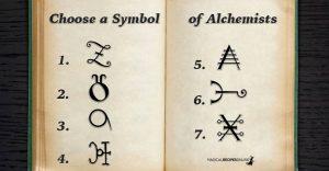 Your Current Life's Challenge - Choose a Symbol of Alchemists