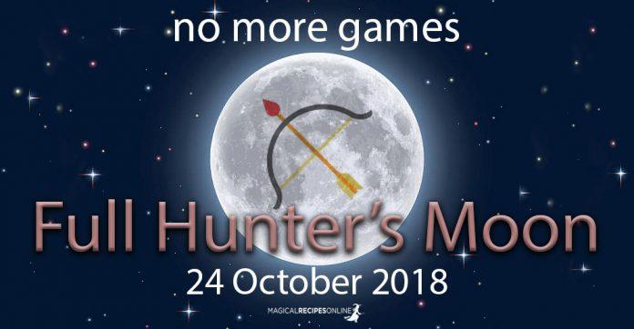 Full Moon in Taurus - 24 October 2018