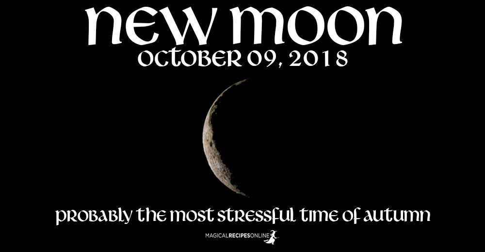 New Moon in Libra - 09 October 2018
