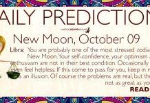 New Moon in Libra - 09 October 2018