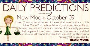 New Moon in Libra – 09 October 2018