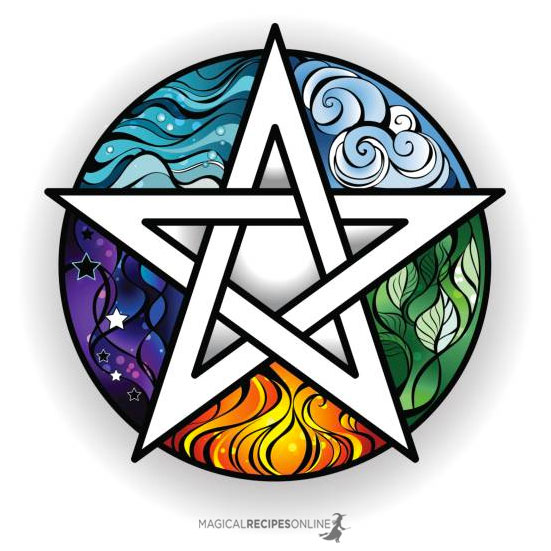 Ancient Greece that Pentagram acquired a more philosophical interpretation. The five edges of the symbol represented the five elements, namely water, earth, fire, air and spirit (aether)