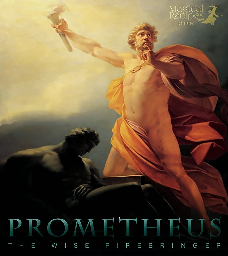 Prometheus the wise Firebringer