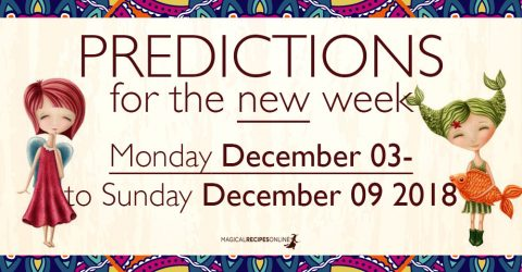 Predictions for the New Week, December 03 - 09, 2018