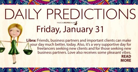Daily Predictions - January 31