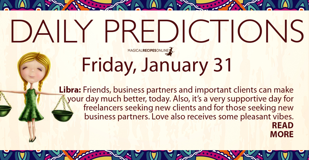 Daily Predictions - January 31
