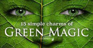 15 Green Magic Charms