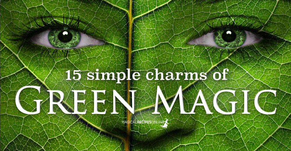 15 Green Magic Charms