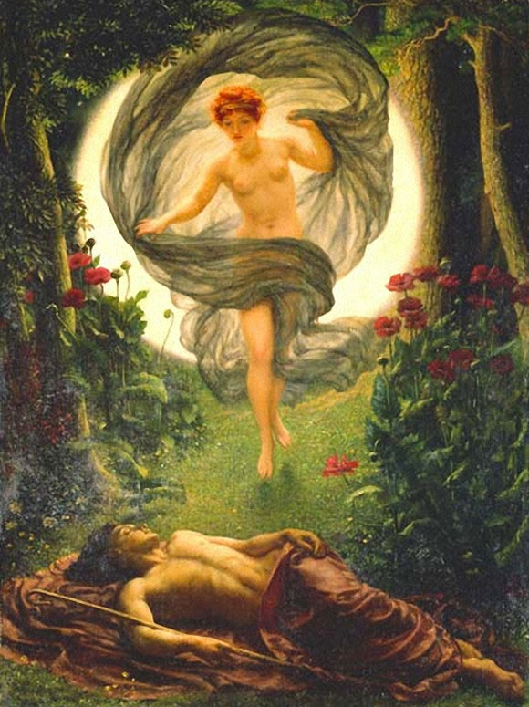 selene and endymion the calling