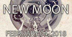 New Moon in Aquarius - 04 February 2019