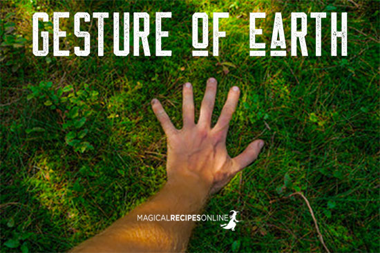 gesture of earth