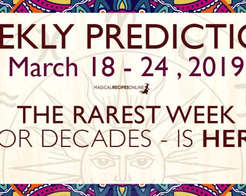 Predictions for the New Week, March 18 - 24, 2019