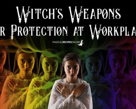Witch's Weapons For Protection at Workplace