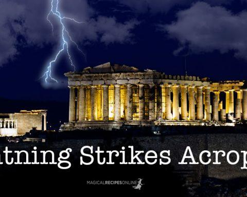 Lightning Strikes Acropolis