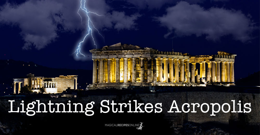 Lightning Strikes Acropolis