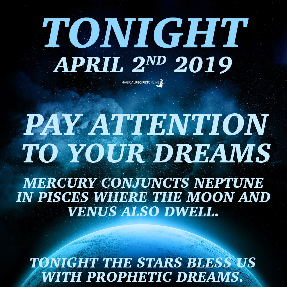 MERCURY CONJUNCTS NEPTUNE IN PISCES WHERE THE MOON AND VENUS ALSO DWELL.