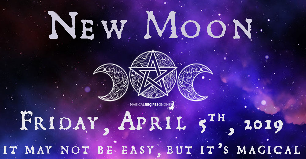 New Moon in Aries – April 05 2019